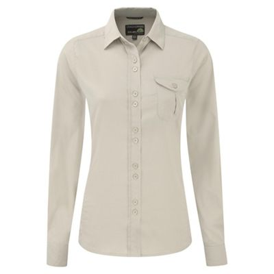 Craghoppers Almond kiwi long-sleeved shirt - . -