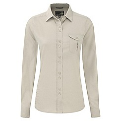 Craghoppers - Almond kiwi long-sleeved shirt