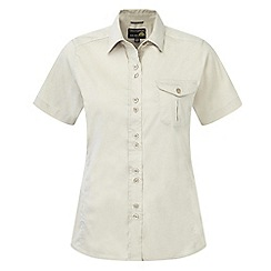 Craghoppers - Almond kiwi short-sleeved shirt