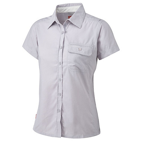 Craghoppers - Pale Lilac NosiLife Darla II Short-Sleeved Shirt