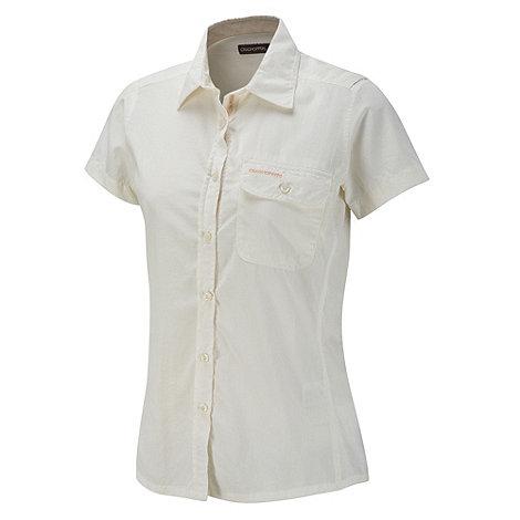Craghoppers - Sea Salt NosiLife Darla II Short-Sleeved Shirt