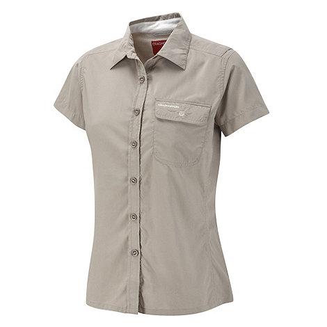 Craghoppers - Mushroom NosiLife Darla II Short-Sleeved Shirt