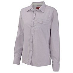 Craghoppers - Pale Lilac NosiLife Darla II Long-Sleeved Shirt