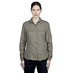 Craghoppers - Litchen green nosilife darla long-sleeved shirt