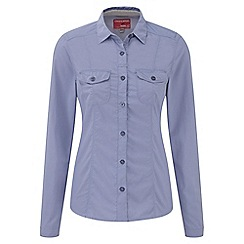 Craghoppers - Ashen mist nosilife darla long-sleeved shirt