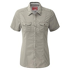 Craghoppers - Mushroom nosilife darla short-sleeved shirt