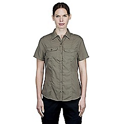 Craghoppers - Litchen green nosilife darla short-sleeved shirt