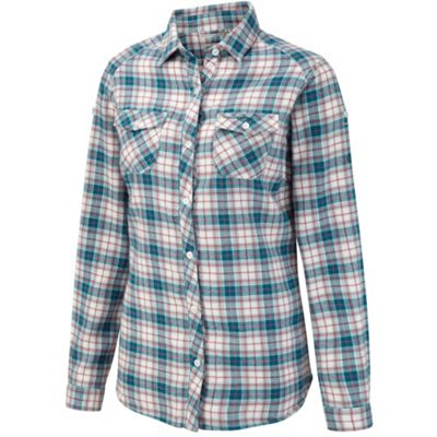 Craghoppers Arctic blue kiwi long-sleeved shirt - . -