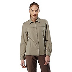 Craghoppers - Mushroom nosilife pro long-sleeved shirt