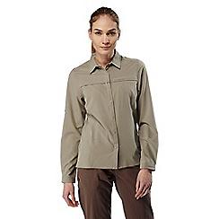 Craghoppers - Mushroom nosilife pro long-sleeved shirt