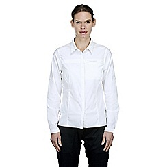 Craghoppers - White nosilife pro long-sleeved shirt