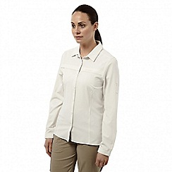 Craghoppers - Sea salt Professional insect repelling long sleeved shirt