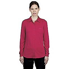 Craghoppers - Lipstick kaile trek long-sleeved jersey shirt