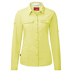 Craghoppers - Citronella Insect repelling adventure long-sleeved shirt