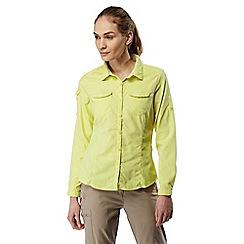 Craghoppers - Limeade Nosilife adventure long sleeved shirt