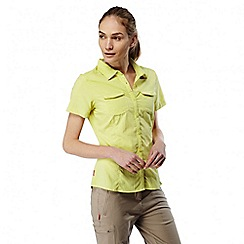 Craghoppers - Limeade Nosilife adventure short sleeved shirt