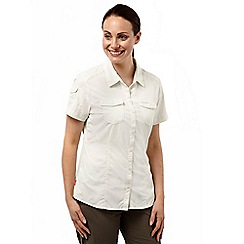 Craghoppers - Sea salt nosilife adventure short sleeved shirt