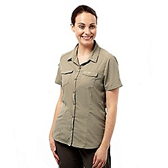 Craghoppers - Mushroom nosilife adventure short sleeved shirt