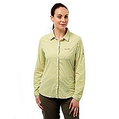 Craghoppers - Citronella combo nosilife olivie long sleeved shirt
