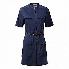 Craghoppers - Night blue Nosilife symone shirt dress
