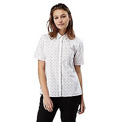 Craghoppers - Optic white combo Natalie short sleeved shirt