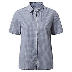 Craghoppers - Dark navy combo Natalie short sleeved shirt