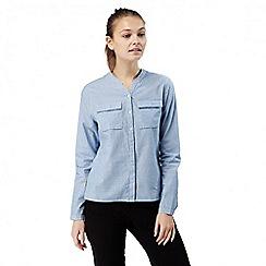 Craghoppers - Pale blue Ravello long sleeved shirt