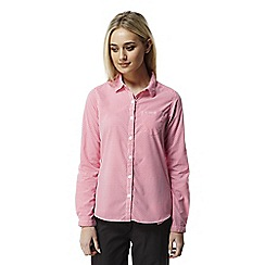 Craghoppers - Watermelon combo Nosilife shona long sleeved shirt
