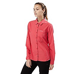 Craghoppers - Watermelon kiwi long sleeved shirt