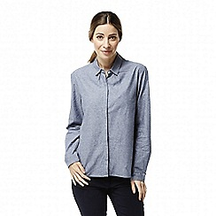 Craghoppers - Blue 'Hulda' long sleeved top