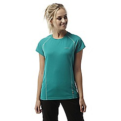Craghoppers - Bright turquoise Vitalise base t-shirt