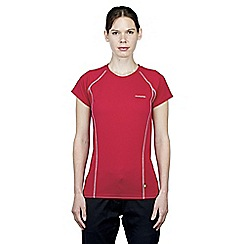 Craghoppers - Deep raspberry vitalise base t-shirt