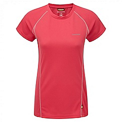 Craghoppers - Electric pink Vitalise base t-shirt
