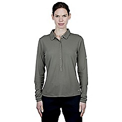 Craghoppers - Litchen green nosilife keisha long-sleeved polo