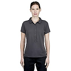 Craghoppers - Charcoal nosilife keisha short-sleeved polo
