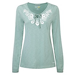 Craghoppers - Soft jade zanta long-sleeved tunic top