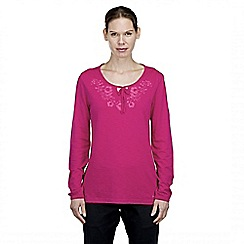 Craghoppers - Lipstick zanta long-sleeved tunic top