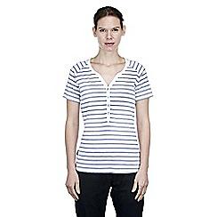 Craghoppers - Ashen mist oteka stripe t-shirt