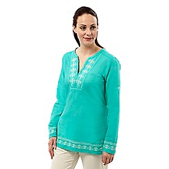 Craghoppers - Spearmint clemence long sleeved top