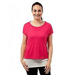 Craghoppers - Electric pink Pro lite t-shirt