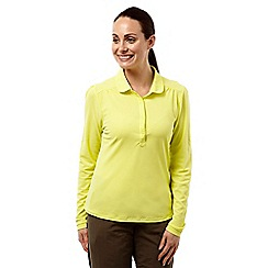 Craghoppers - Citronella nosilife keisha ii long-sleeved polo