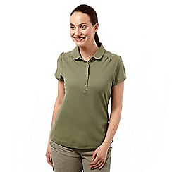 Craghoppers - Soft moss nosilife keisha short-sleeved polo