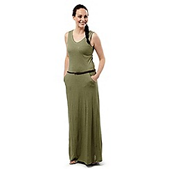 Craghoppers - Soft moss marl nosilife amiee maxi dress
