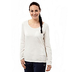 Craghoppers - Sea salt nosilife long sleeved tee