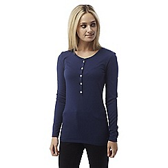 Craghoppers - Night blue Gracefield long sleeved tee