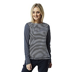 Craghoppers - Night blue combo Nosilife Erin long sleeved top