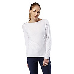 Craghoppers - Optic white Nosilife erin long sleeved top