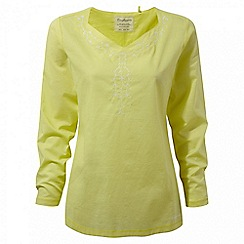 Craghoppers - Limeade Rayna long sleeved tunic top