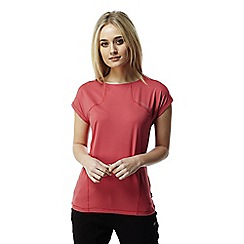 Craghoppers - Fiesta red Fusion lightweight t-shirt