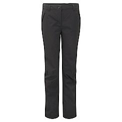 Craghoppers - Black airedale trousers - regular leg